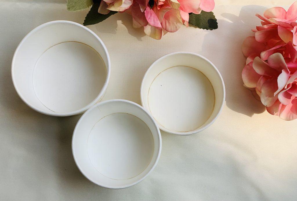 Paper Dip Cups